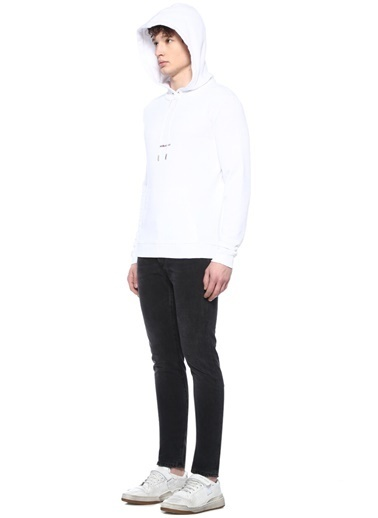 Saint Laurent Sweatshirt Beyaz